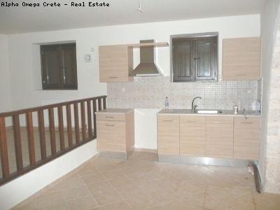 Stone studio apartment for sale in Armeni Crete