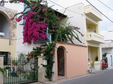 2 Apartments for Sale in Kalives Crete In Old Town with Private Courtyard