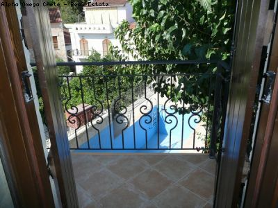2 bed stone house with pool for sale in Armeni Crete