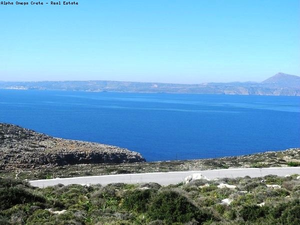 Sea view plot in Kokkino Chorio Crete