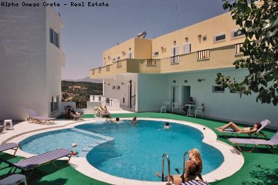 Holiday Apartments with pool near the sea for sale in Aspro Crete