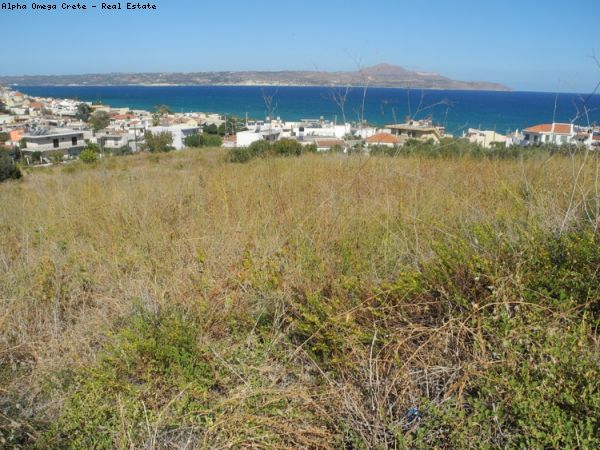 Large SEAVIEW plot of land for Hotel or Rental Apartments in Kalives